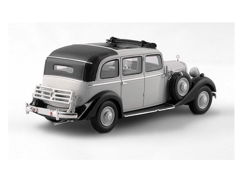 miniatuur 3 - MB Mercedes Benz 260D Pullman Landaulet - 1936 / 1940 - grey - ESVAL 1:43