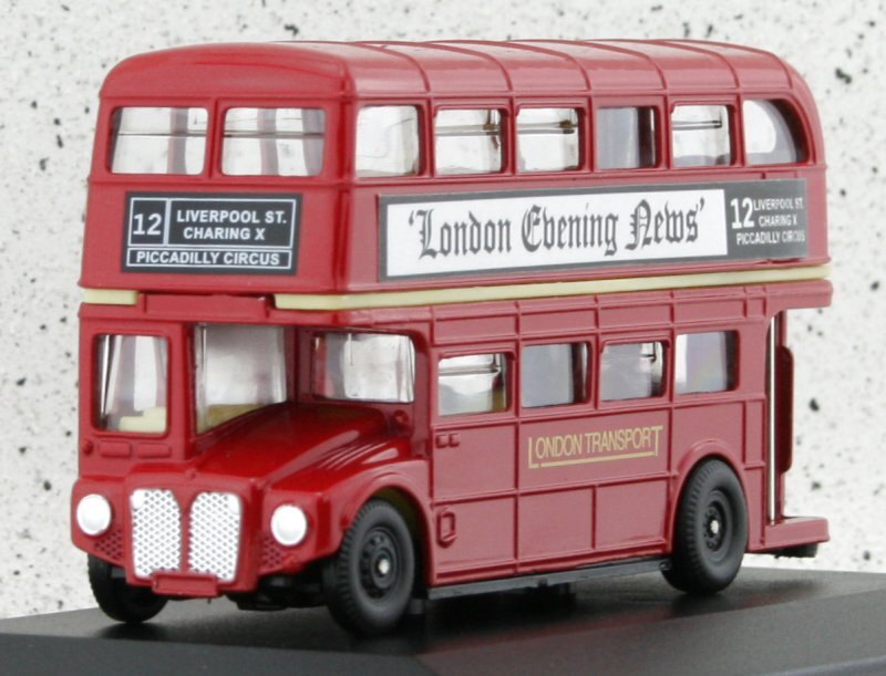 AEC Routemaster - London Bus - red - Oxford 1:76