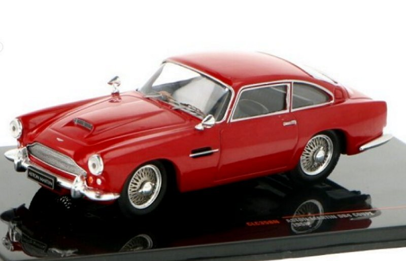 ASTON MARTIN DB4 Coupe - 1958 - darkred - IXO 1:43