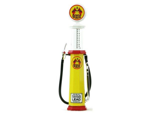 DIXIE Gas Pump / Zapfsäule  - Round - YATMING 1:18