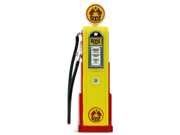 DIXIE Gas Pump / Zapfsäule  - Square - YATMING 1:18