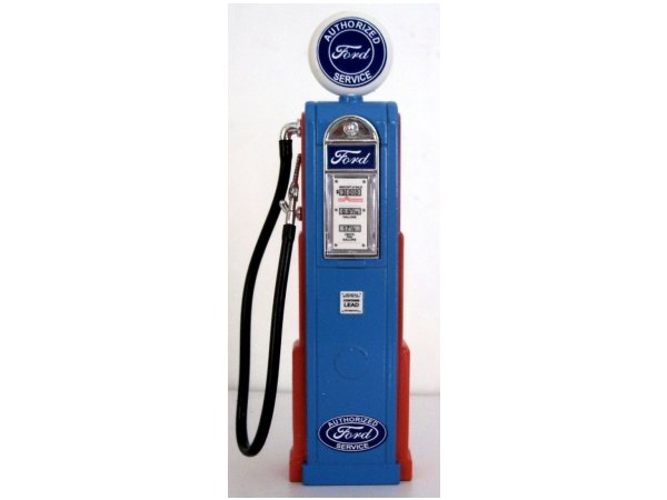 FORD Gas Pump / Zapfsäule  - Square - YATMING 1:18