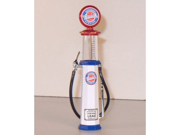 BUICK Gas Pump / Zapfsäule  - Round - YATMING 1:18
