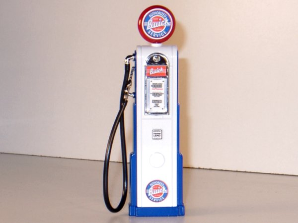 BUICK Gas Pump / Zapfsäule  - Square - YATMING 1:18