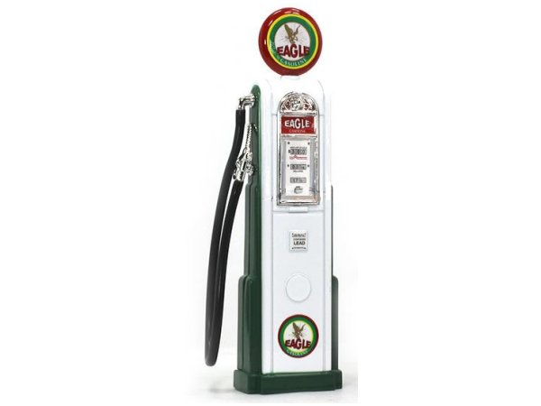 EAGLE Gas Pump / Zapfsäule  - Square - YATMING 1:18