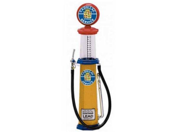 CADILLAC Gas Pump / Zapfsäule  - Round - YATMING 1:18
