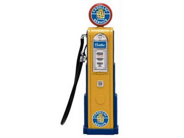 CADILLAC Gas Pump / Zapfsäule  - Square - YATMING 1:18