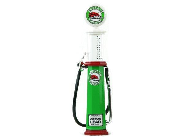 BUFFALO Gas Pump / Zapfsäule  - Round - YATMING 1:18