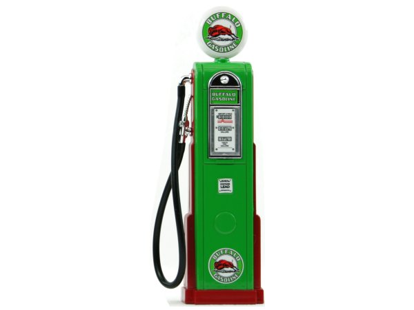 BUFFALO Gas Pump / Zapfsäule  - Square - YATMING 1:18
