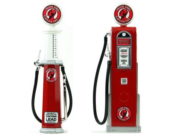 MOHAWK Gas Pump / Zapfsäule  - Set of 2 pieces - YATMING 1:18