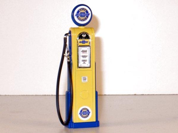 CHEVROLET Gas Pump / Zapfsäule  - Square - YATMING 1:18