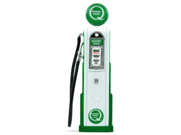 Quaker State Gas Pump / Zapfsäule  - Square - YATMING 1:18