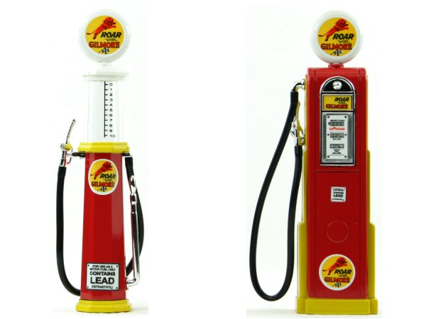 ROAR Gilmore Gas Pump / Zapfsäule  - Set of 2 pieces - YATMING 1:18