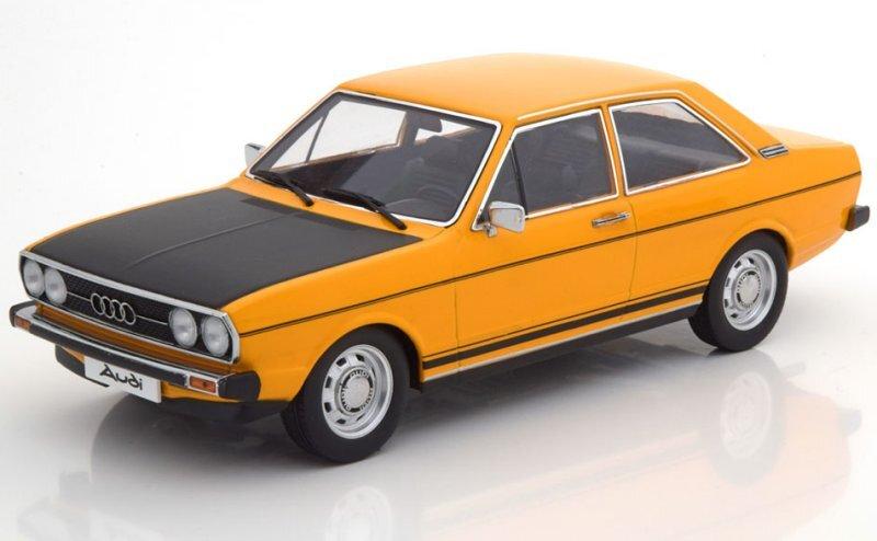 AUDI 80 GTE - 1972 - yellow / black - KK 1:18