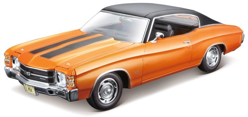 CHEVROLET Chevelle SS 454 Sport - 1971 - orangemetallic - Maisto 1:18