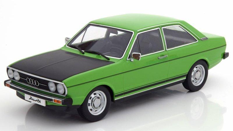 AUDI 80 GTE - 1972 - green / black - KK 1:18