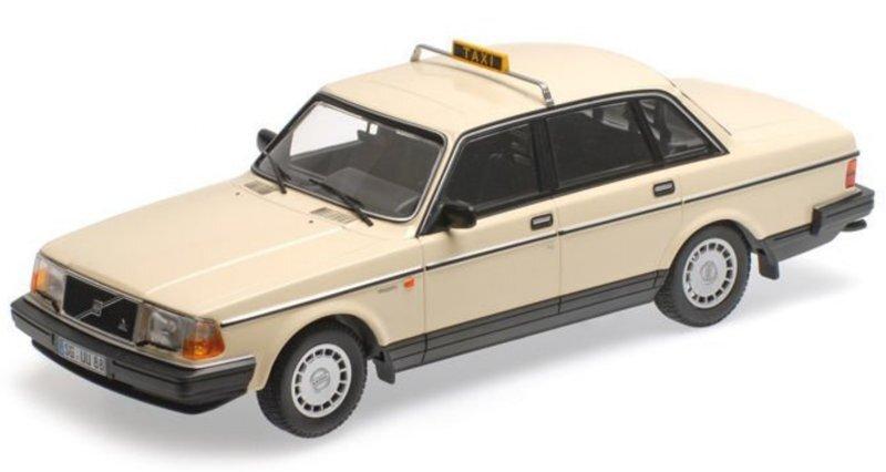 VOLVO 240 GL - 1986 - Taxi Cab - Minichamps 1:18