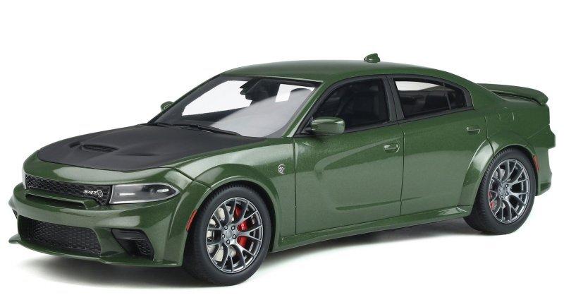 DODGE Charger SRT Hellcat - Widebody - greenmetallic - GT Spirit 1:18