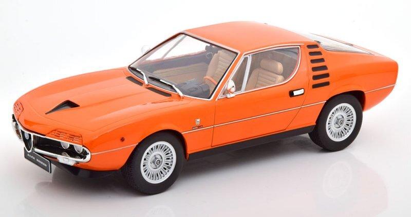 ALFA ROMEO Montreal - 1970 - orange / beige - KK 1:18