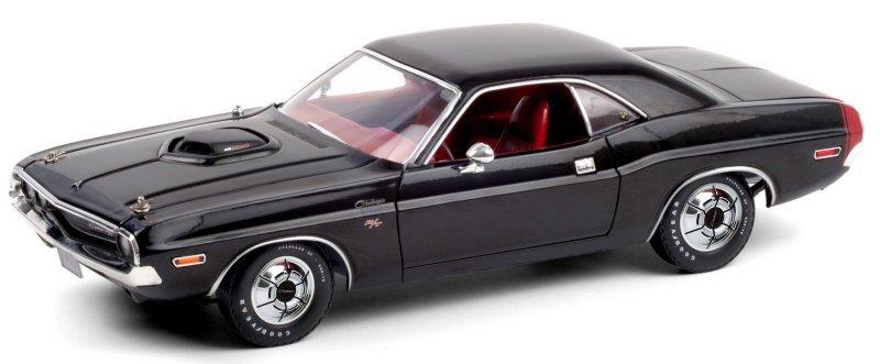 DODGE Challenger R/T 440 ScatPack - 1970 - black - Greenlight 1:18