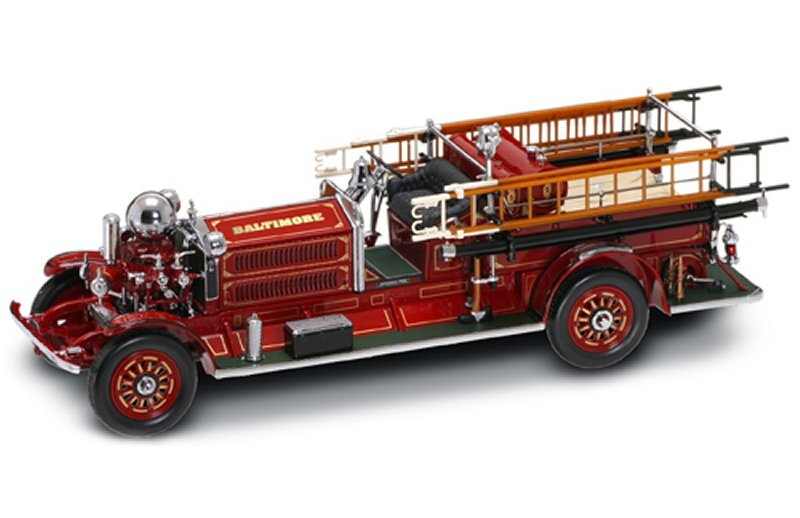 AHRENS-FOX N-S-4 Baltimore - 1925 - Firetruck - YATMING 1:24