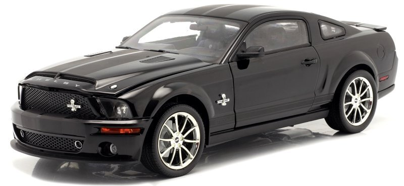 FORD Mustang SHELBY GT 500 KR - 2008 - black - SHELBY Collectibles 1:18