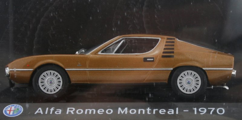 ALFA ROMEO Montreal - 1970 - brownmetallic - Atlas 1:43