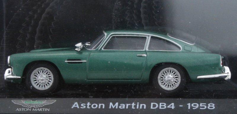 ASTON MARTIN DB4 - 1958 - greenmetallic - Atlas 1:43