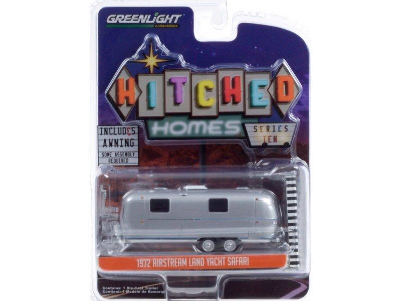 AIRSTREAM Land Yacht Safari - 1972 - silver - Greenlight 1:64