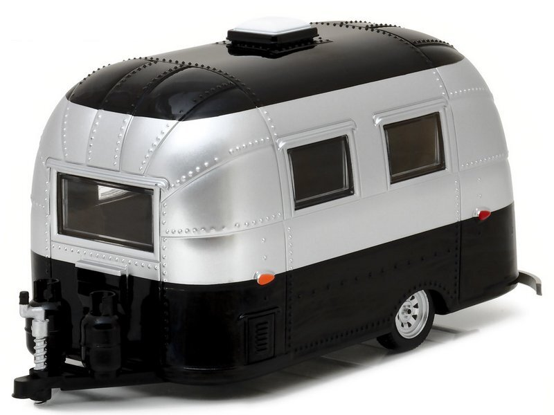 AIRSTREAM 16` Bambi - silver / black - Greenlight 1:24