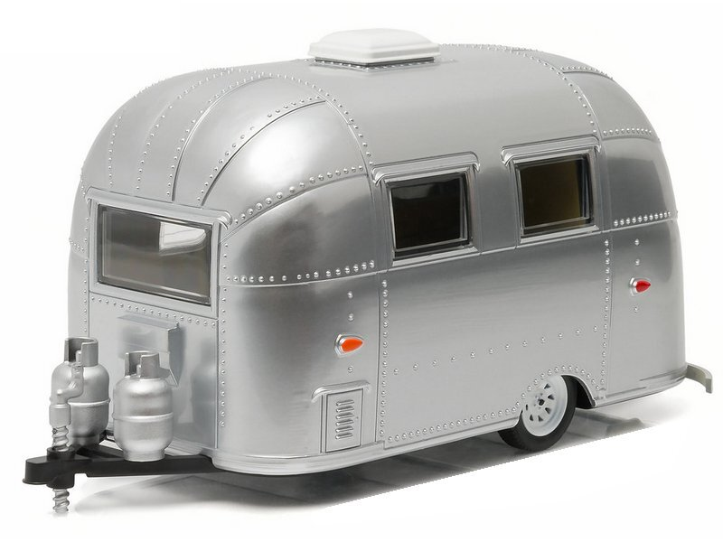 AIRSTREAM 16` Bambi - polished colour - silver - Greenlight 1:24