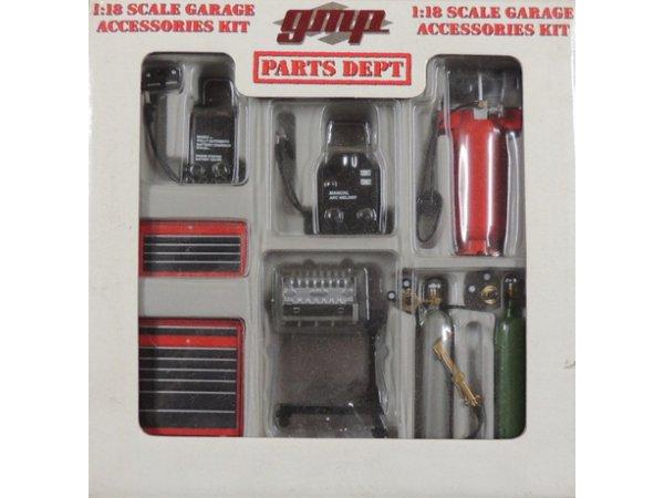 Garage Accessoires / Werkstatt Zubehör  - #9010 - GMP 1:18
